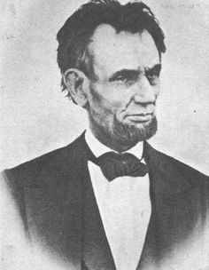 Last known photo taken of Abraham Lincoln.