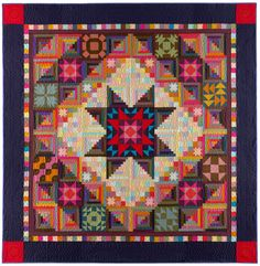 Amish With a Twist II by Nancy Rink. Quilt kit available through her website.