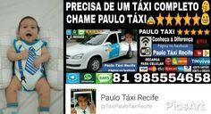 PRECISA DE UM TÁXI COMPLETO  CHAME PAULO TÁXI⭐⭐⭐⭐⭐ PÁGINA NO FACEBOOK Paulo Táxi Recife