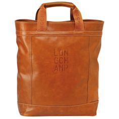 Tote bag - Cavalier - Bags - Longchamp - Orange - Longchamp United-States