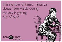 Tom Hardy - thanks honey! I'm glad we're on the same team