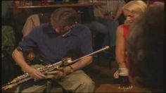 Irish Uilleann Pipes., via YouTube. / Gay McKeon plays a slow air & set dance from the playing of the great Leo Rowsome (Musician, Teacher & Uilleann Pipe maker). Recorded in Ned O'Shea's Pub ( The Merchant ) Dublin. This pub is famous for it's set dancing and traditional Irish music sessions.