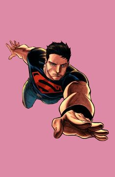 Superboy by Francis Manapul Miss Martian, The Martian, Superman Family, Kid Flash, Superman Man Of Steel, Comics Universe, Young Justice, Secret Life, Book Of Life