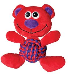 Kong Weave Knots Bear Cuddly Knotted Rope Bellies Interactive Dog Toy Medium *** Quickly view this special dog product, click the image : Kong dog toys