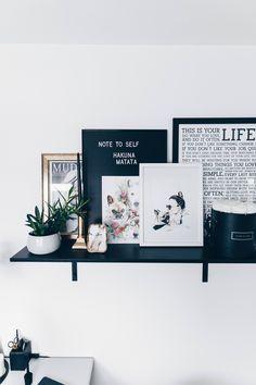 Arbeitsplatz Zuhause einrichten: 5 Ideen für mehr Stil im (Blogger ...