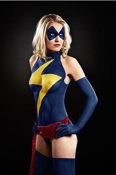 17 amazing bodypaint superhero costumes (definitely NSFW) | Blastr