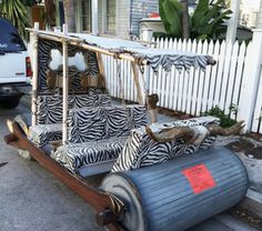 The Illegally Parked Flintstone Car in Key West