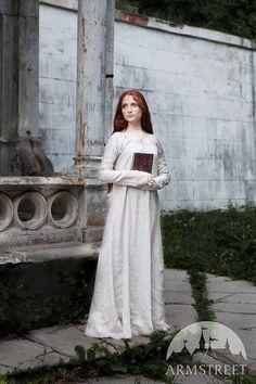 Prix réduit  Chemise de lin naturel  Sansa   Tailles par armstreet
