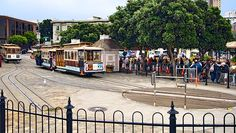 Hyde Street Cable Car turnaround