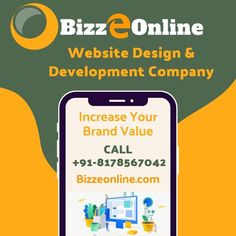 Bizzeonnline provides the best website design services in gurgaon. Best Seo Company, Website Design Services, Design Development, Web Design, Design Web, Website Designs, Site Design