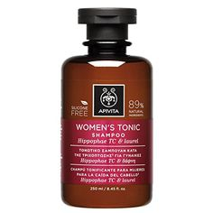 3 X Apivita Womens Tonic Shampoo for Thinning Hair New Product Released in 2017  3 Bottles X 250ml85oz each one -- Click on the image for additional details.(This is an Amazon affiliate link and I receive a commission for the sales)