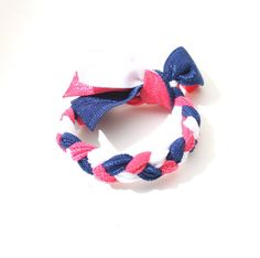 Braided Hair Tie  Knotted Fabric Hair Tie by preppypieces on Etsy, $4.50