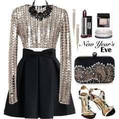 A fashion look from December 2015 featuring Wes Gordon tops, Chicwish skirts and River Island bracelets. Browse and shop related looks.