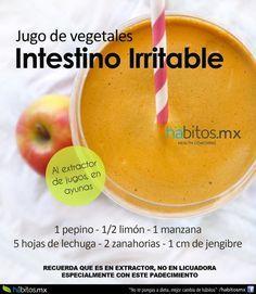 JUGO DE VEGETALES INTESTINO IRRITABLE