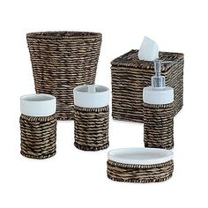 genoa collection bathroom accessories - bedbathandbeyond, Hause ideen