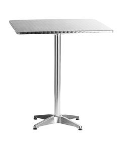 Aluminum Square Table, Wholesale Bistro Chair With Cheap Price