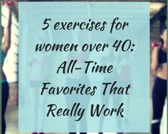 5 exercises for wome