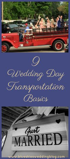 Most couples plan how they will get from the wedding ceremony to the reception but . Wedding Planning, Bride, Blue Skies Wedding Planning, Mother of the Bride, Wedding Transportation Dog Wedding, Wedding Groom, Wedding Tips, Wedding Vendors, Wedding Blog, Rustic Wedding, Wedding Ceremony, Reception, Wedding Day