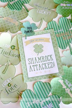Free Printables for a St.Patrick's Day Shamrock Attack