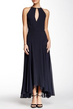 Theory Juliette Draped Silk Dress