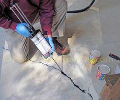 Emecole 555 - Concrete Slab Repair Kit | Levittown | Pinterest ...