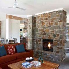 decoracin de chimeneas con piedra artificial decorativa chimenea pinterest