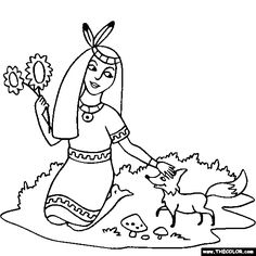 100 free prince and princesses coloring pages color in this picture of a native