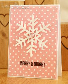 Such a Pretty Card by Lucy Abrams using Simon Says Stamps Brand New Holiday 2013 Release.