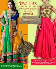 #Contrasting #Combinations  Shop Here : www.cbazaar.com