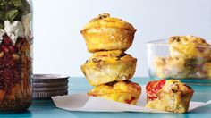 We love breakfast frittatas here at CE, but we know that time doesn't always permit a leisurely morning meal. Enter these scrumptious Italian-style mini frittatas with tomatoes, chicken sausage, 
