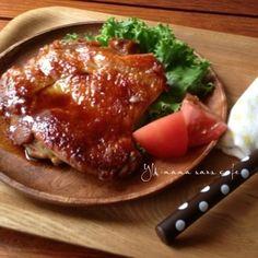 鶏肉の生姜照り焼き♡ お弁当。朝ごはん。