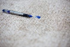How to Remove an Ink Stain From Carpet – carpet stain remover Best Carpet Stain Remover, Ink Stain Removal, Stain Removers, Remove Ink From Clothes, Ink Pen Stains, Removing Carpet, Fountain Pen Ink, Carpet Stains, How To Clean Carpet