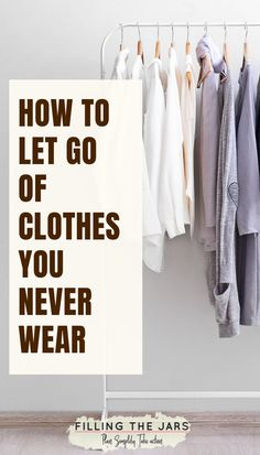 things you need to STOP saying about your cluttered closet. When you're overwhelmed by too many clothes, it's time to get rid of the extra clothing! Here's how you can turn your excuses around and make decluttering your closet easier. Declutter Home, Declutter Your Life, Organizing Your Home, Organising Hacks, Declutter Bedroom, Decluttering Ideas, Organizing Tips, Getting Rid Of Clutter, Getting Organized