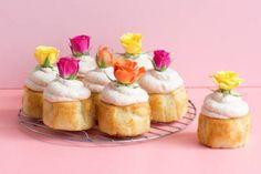 LEMONY PINK CHAMPAGNE MINI CAKES recipe on Food52