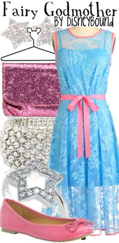 Fairy Godmother from Cinderella inspired outfit by DisneyBound
