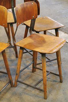 Original ROWAC wooden chairs