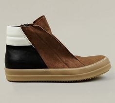 Rick Owens Men's Dunk Leather Sneaker #LimiteMagazine