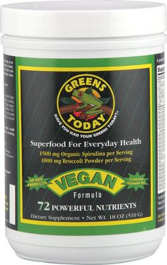Greens Today #Vegan Formula Superfood Powder - May we suggest mixing into rice milk for a good morning shake?