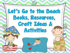 Let's go to the Beach! Free Resources, Good Books, Craft Ideas and Activities #SuliaChat #SuliaMoms