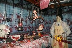 Every Haunt needs a Leather face. He would start up and you hear a chainsaw and screaming