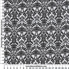 M'Liss Elements of Style IV Damask Cotton Fabric