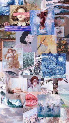 IPhone Wallpaper X 377669118750808120 HD - Works of art work . Tumblr Wallpaper, Wallpaper Pastel, Aesthetic Pastel Wallpaper, Aesthetic Backgrounds, Galaxy Wallpaper, Cool Wallpaper, Aesthetic Wallpapers, Wallpaper Backgrounds, Van Gogh Wallpaper