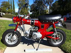 Honda : CT 70 1969 Still cool today!  Wish I were smaller!