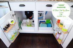 Green Makeover under the kitchen sink - A Bowl Full of Lemons 2
