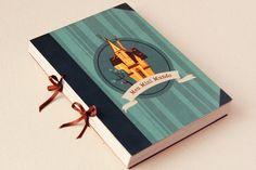 MIni Mundo Book by Mayra Magalhães, via Behance