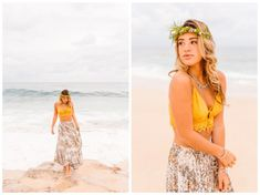 S bright & boho oahu hawaii session - brooke michelle Senior Picture Outfits, Girl Senior Pictures, Senior Pics, Beach At Night, Beach Portraits, Senior Portraits, Oahu Hawaii, Fashion Show, Fashion Photography