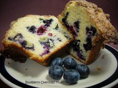 Blueberry Overload Muffins - making this for my sweet husband for breakfast this morning!!