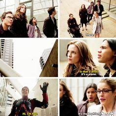 """The Flash - Barry, Felicity, Cisco, Caitlin, Wells & Ray #1x18 #Season1 """"All-Star Team Up"""""""