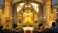 You should not miss visiting another Catholic church that is very close to  Sto. Nino Church and Fort San Pedro. It is also known as The Metropolitan Cathedral of the Most Holy Name of Jesus and St. Vitalis.  The construction of the cathedral began in 1689 and was completed in 1909.