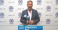 """MOTRIL.García Fuentes: """"Tras dos años de mandato, el gobierno de Almón demuestra su incapacidad en materia económica y evidencia no tener un proyecto demodelo de ciudad."""